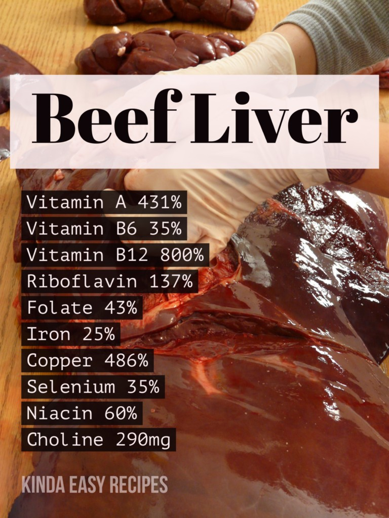 Liver The Original Superfood Real Food Nutrition Kinda Easy Recipes