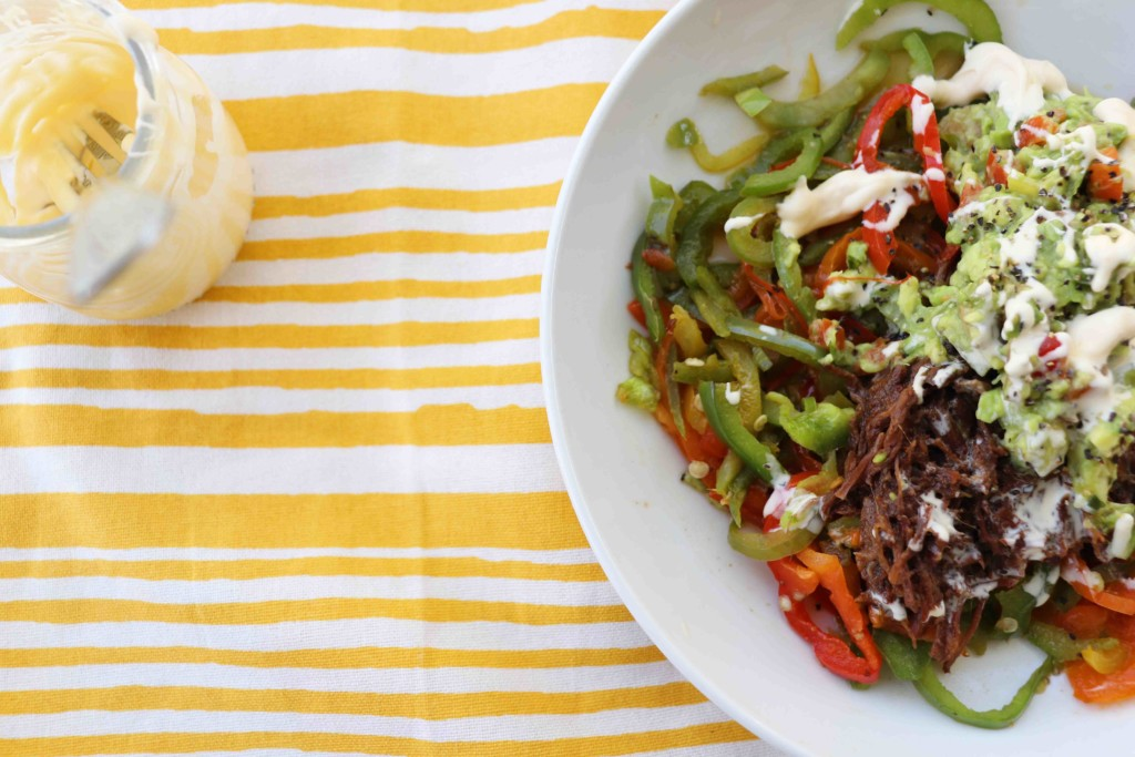 barbacoa-bowl-spiralized-bell-peppers