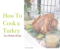 GAPS Thanksgiving recipes