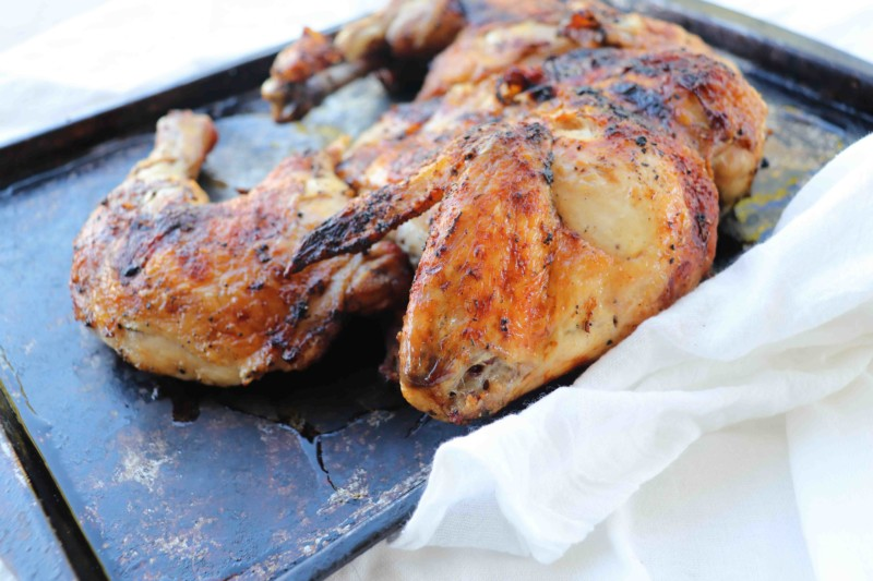 kinda-easy-recipes-spatchcock chicken