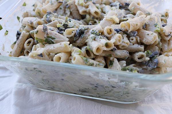 gf-olive-cilantro-pasta-salad
