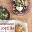 homemade restaurant style tortilla chips