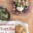 homemade restaurant style tortilla chips