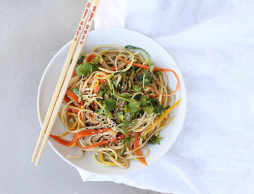Spiralized Vegan Pad Thai