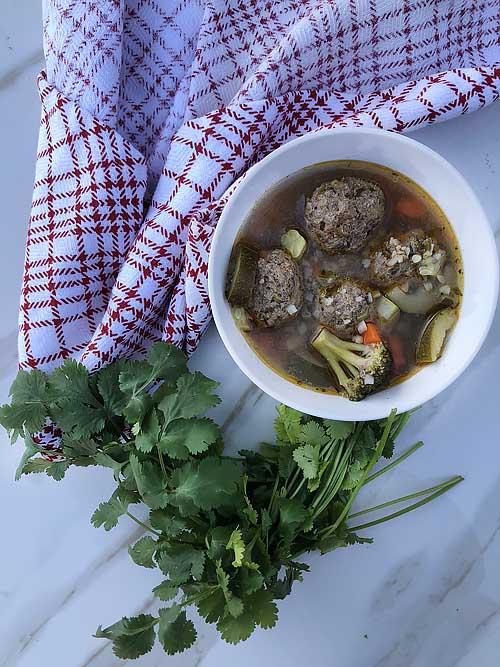 caldo de albondigas easy recipe