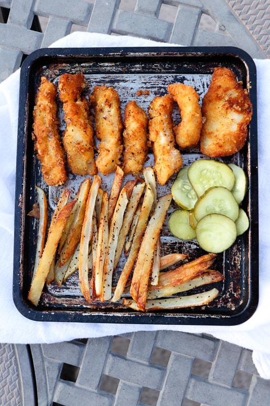 coconut-flour-fish-sticks