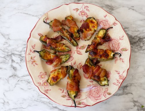 Bacon Wrapped Jalapeños Poppers